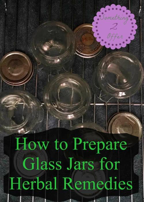 prepare glass jars
