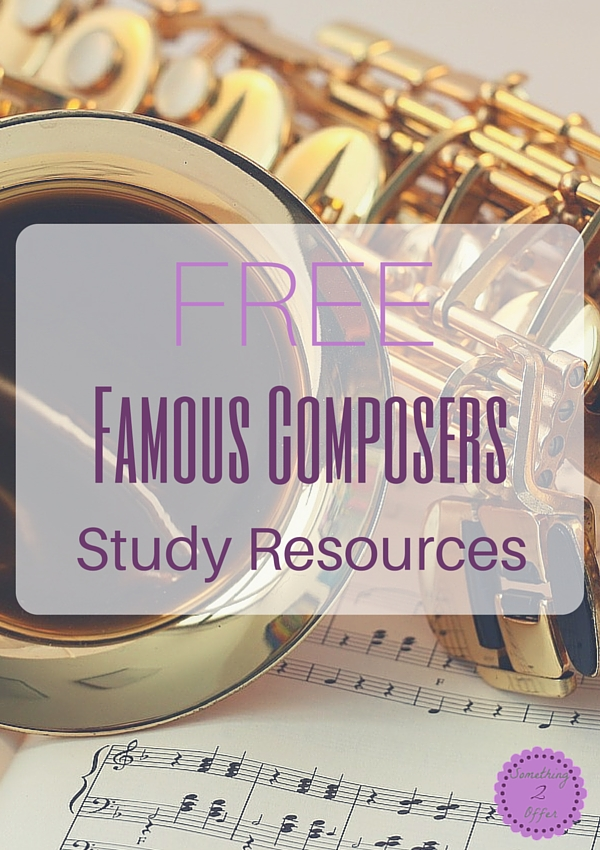 Free Famous Composer Study Resources