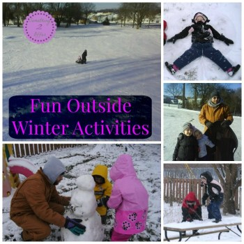 outside Winter Activities