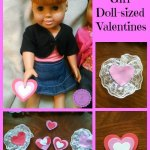 American Girl Doll sized Valentines