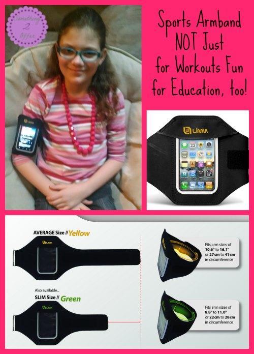 sports armband for education #iPhoneArmband