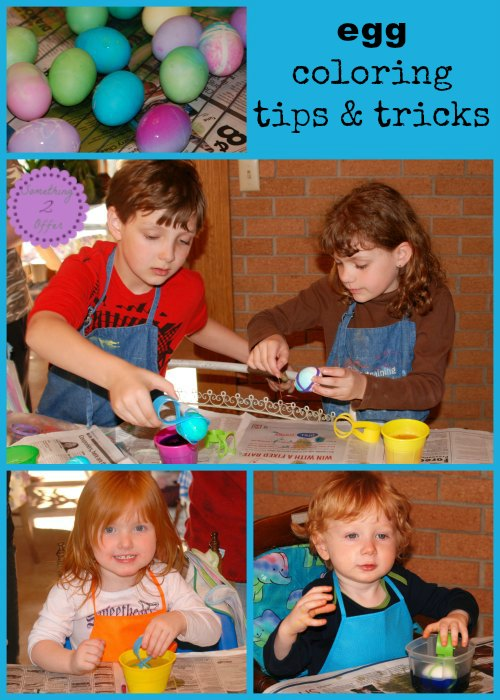 Egg coloring tips