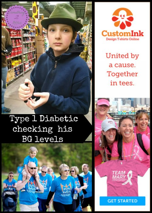 CustomInk shirt fundraising