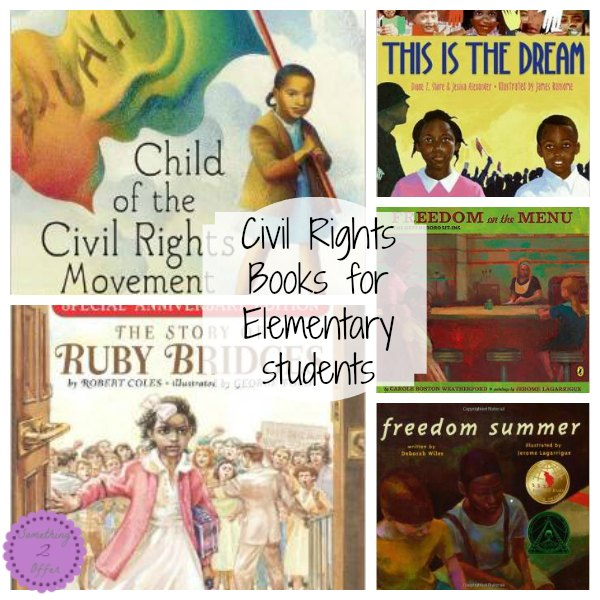 Civil Rights Books for Elementary