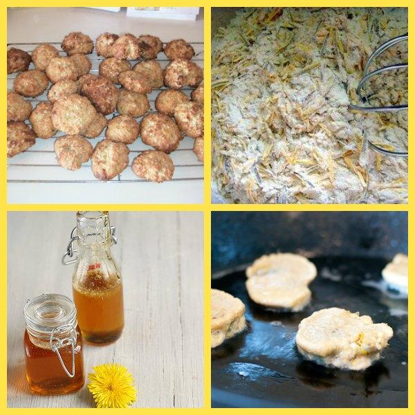 Dandelion recipe products