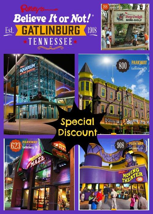 Ripleys 8 attraction discount