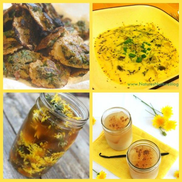 dandelion recipes2