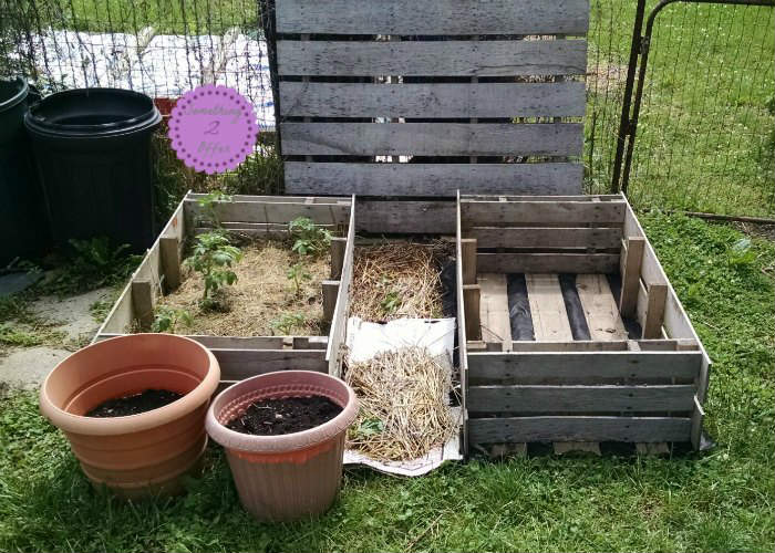 double raised garden beds