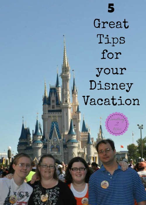 great tips for Disney Vacation