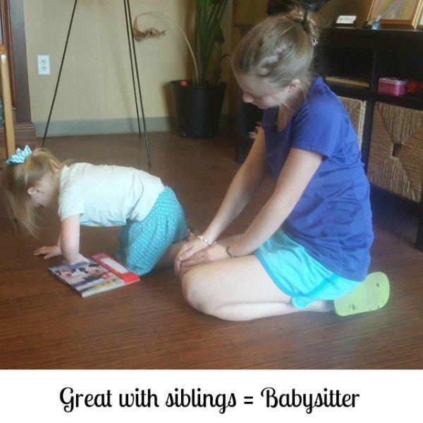 teen  babysitter