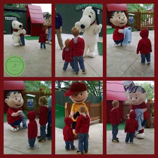 Cedar Point Charlie Brown Show