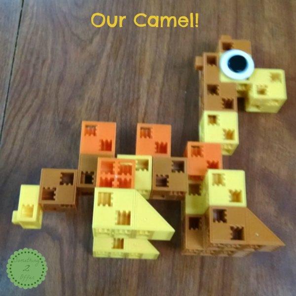 Click-A-Brick Camel