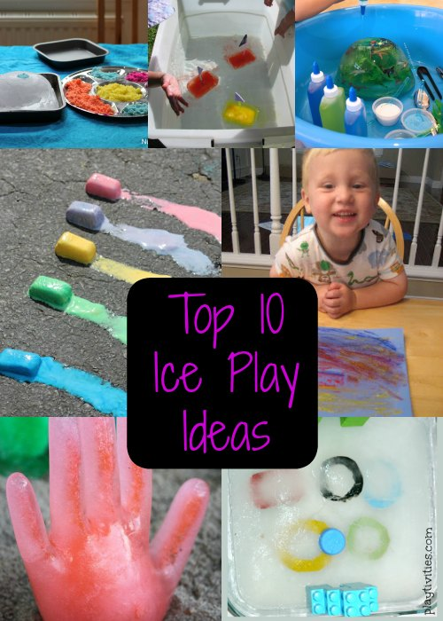 Top 10 Ice Play Ideas