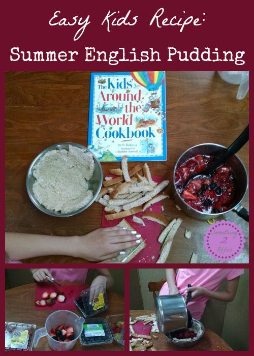 Easy Kids Recipe Summer English Pudding