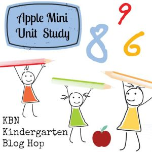 KBN Kindergarten Apple Mini Unit Study