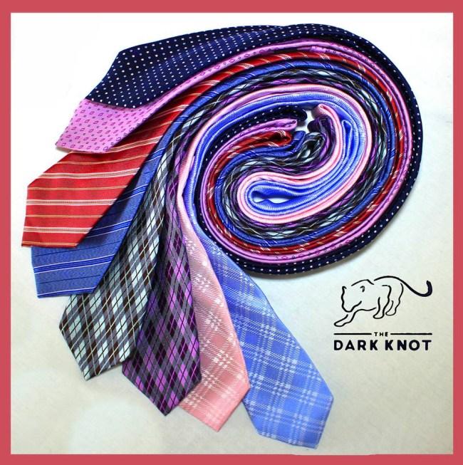 dark knot ties