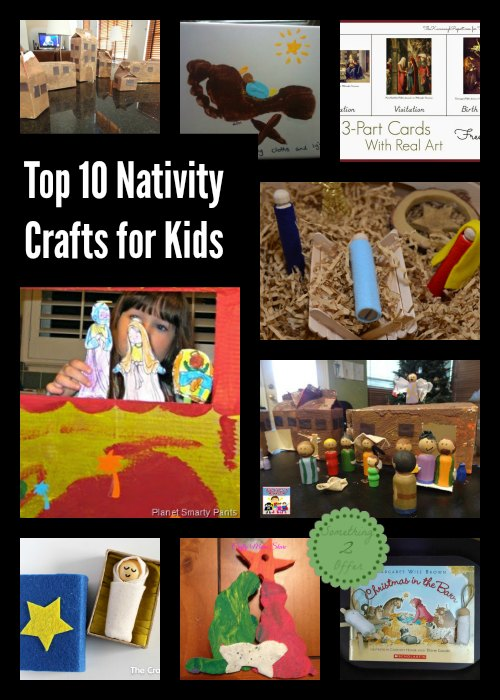 top 10 Nativity Crafts for kids