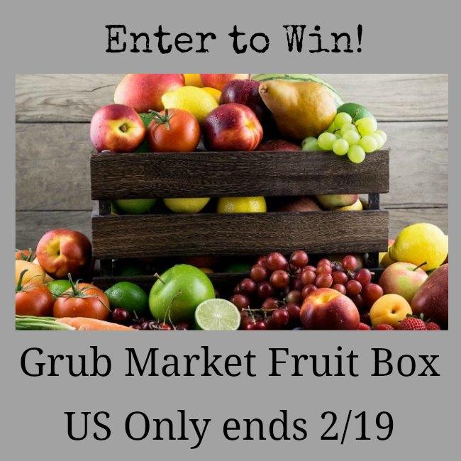 Grub Market Fruit Box Giveaway