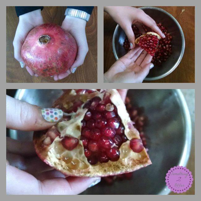Grub Market pomegranate
