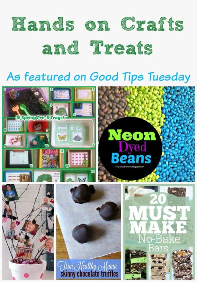 Hands On Crafts and Treats