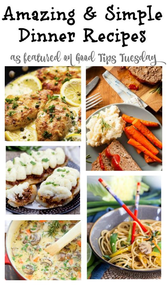 simple dinner recipes