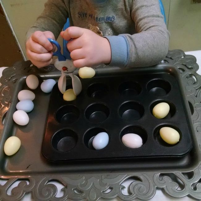 egg fine motor activity