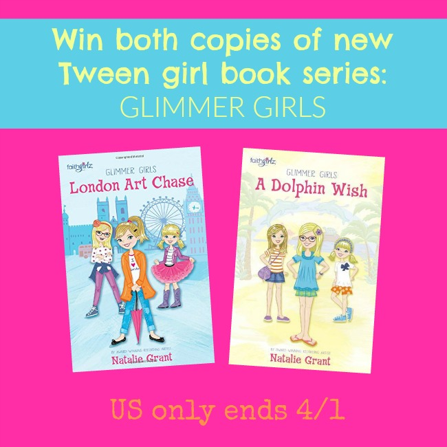Glimmer Girls book giveaway