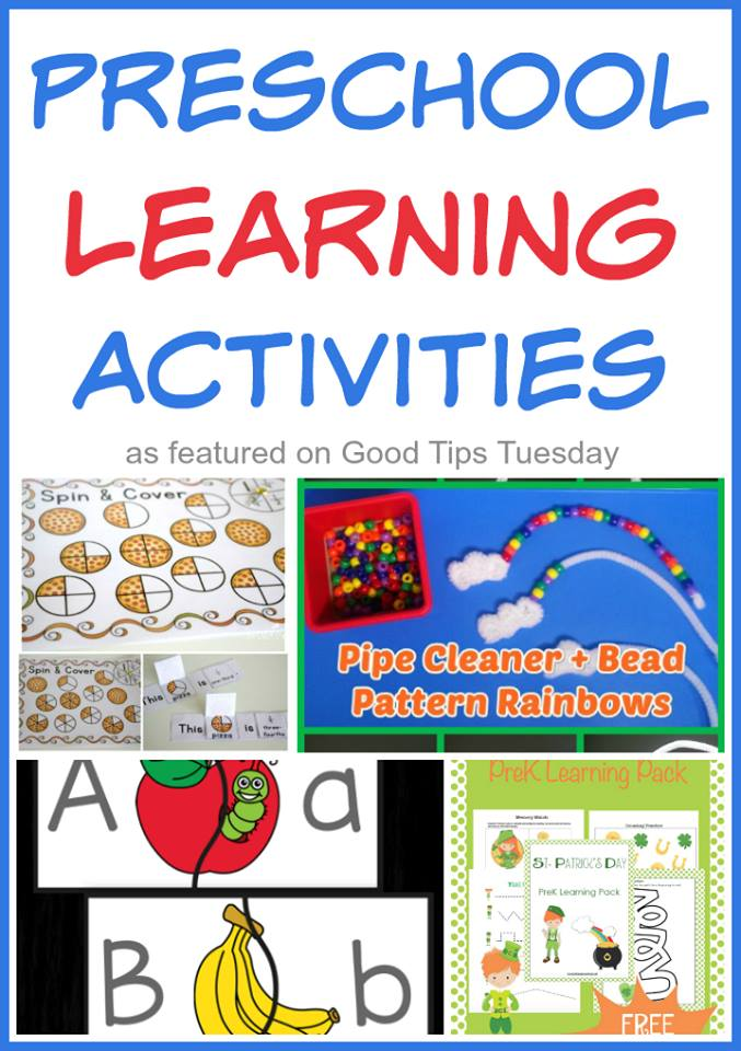 Preschool Activitites GTT