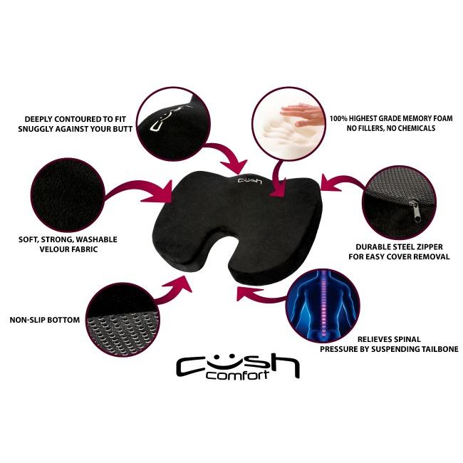 Cush Comfort cushion features