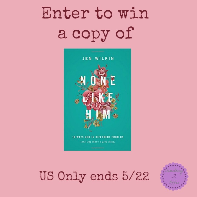 None Like Him Giveaway