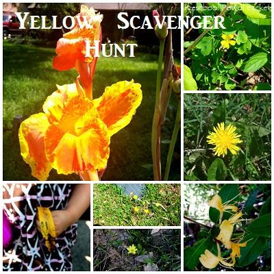 Yellow scavenger hunt