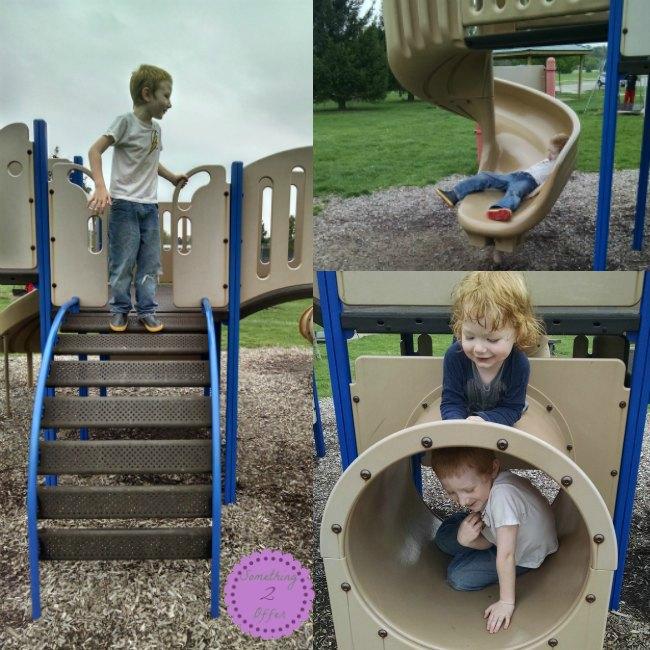 playground climbing and sliding Outdoor Activities