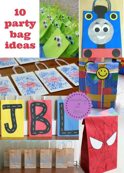10 party bag ideas