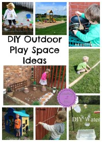 DIY Outdoor Play Space Ideas