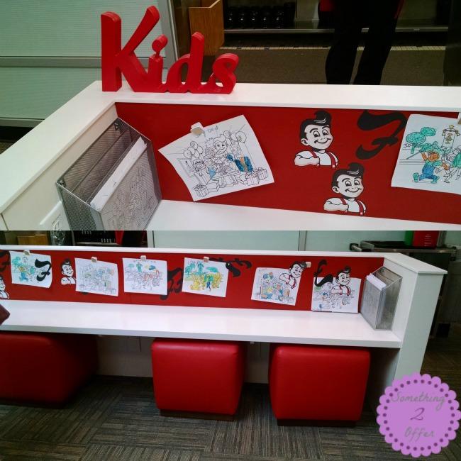 Frisch's Kids area