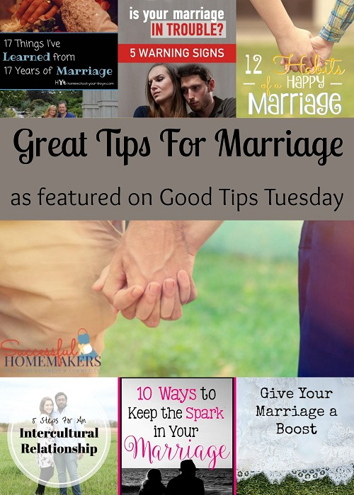 Great Tips For Marriage