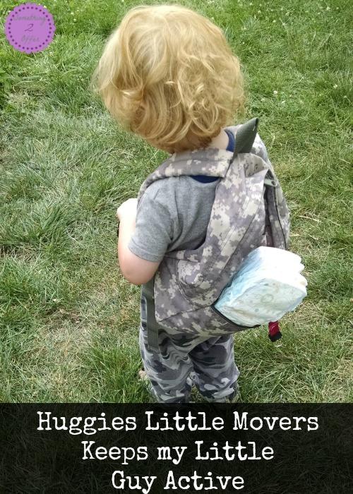 Huggies Little Movers Keeps my Little Guy Active