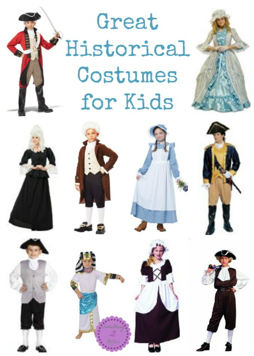 Great Historical Costumes for kids