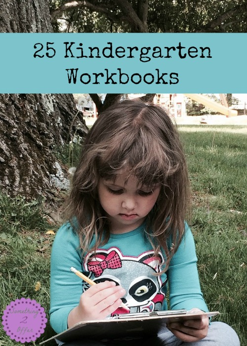 Kindergarten Workbooks