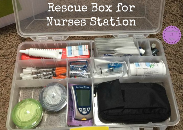 Rescue Box for Nurses Station