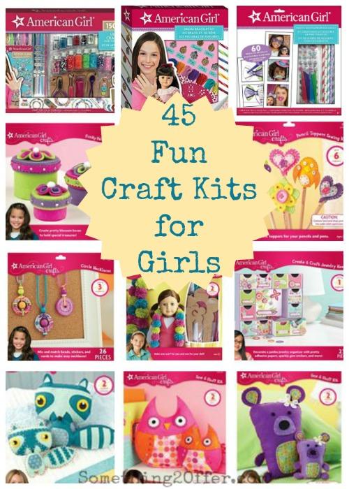 45 Fun Craft Kits for Girls