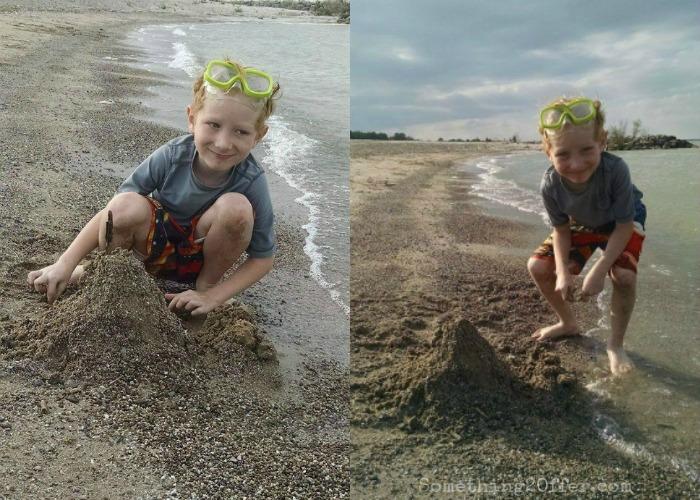 Lake Erie Sandcastle