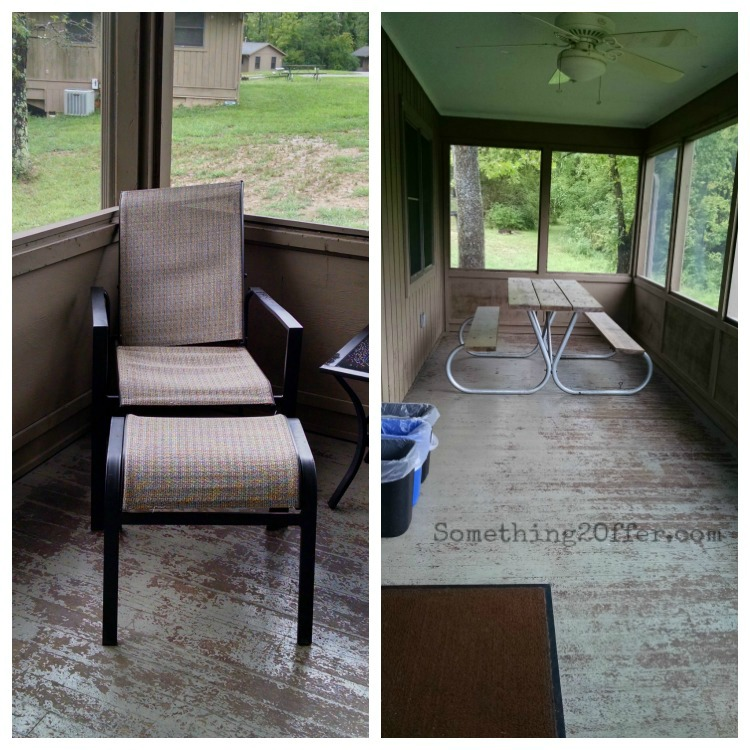 Hueston Woods Cabin Porch