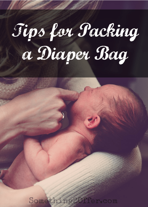 Tips for Packing a Diaper Bag