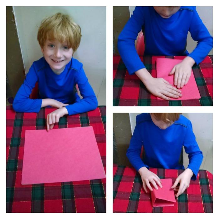 folding construction paper