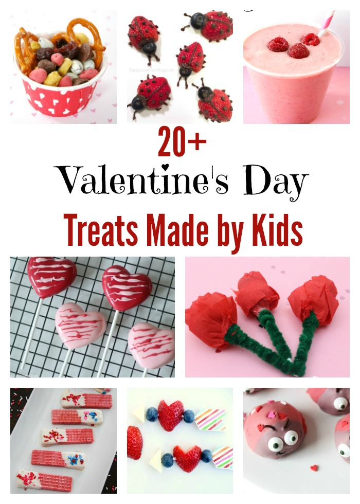 Valentine's Day Treats Made by Kids