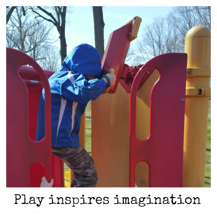 Play inspires imagination