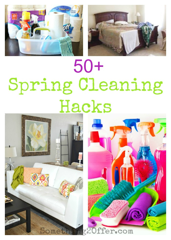 50 Spring Cleaning Hacks