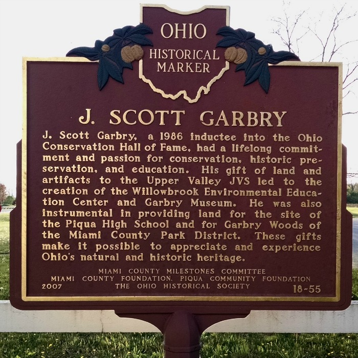 J. Scott Garbry historical marker