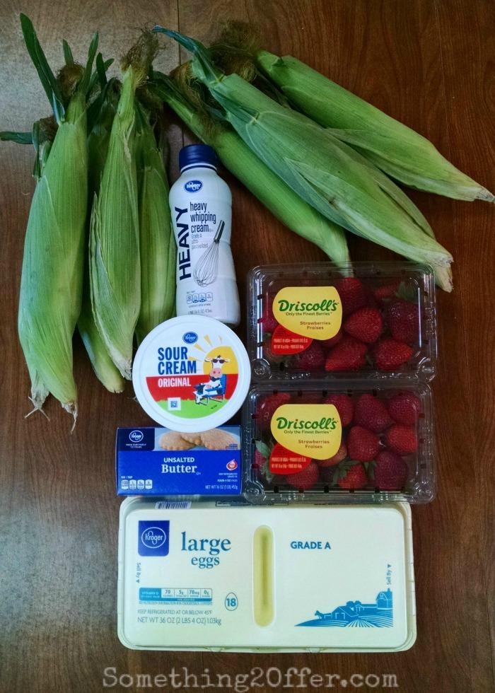 Strawberry Shortcake Sunshine Sweet Corn Ingredients